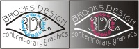 Brooks Design-Contemporary Graphics Logo LR3